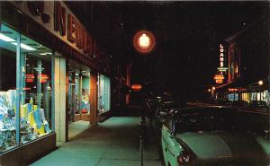 Bardstown KY Street View Store Fronts Old Cars Postcard