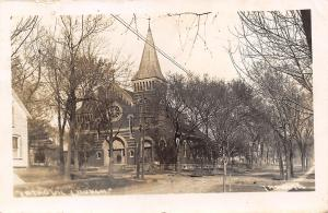 Tama Iowa~Catholic Church~We Moved~1 Block East of Mr Ferguson~1 North~1911 RPPC