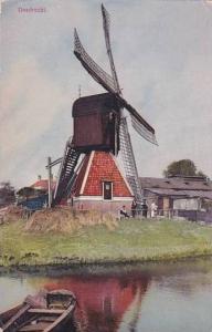 Netherlands Dordrecht Windmill