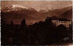 CPA Allieres et Risset - Le Chateau d'Allieres et le Taillefer (433426)