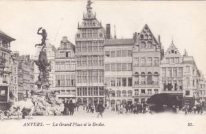 La Grand'Place Et Le Brabo, Anvers (Antwerp), Belgium, 1900-1910s