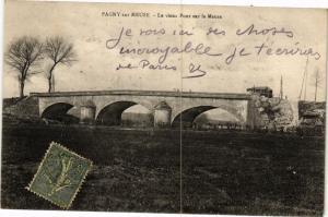 CPA Pagny sur Meuse-Le vieux Pont sur la Meuse (231644)