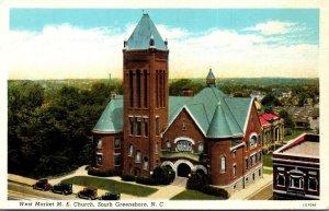 North Carolina South Greensboro West Market Methodist Episcopal Church