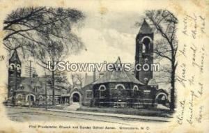 First Presbyterian Church Greensboro NC 1906