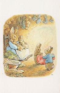 Rabbit in The Tale Of Benjamin Bunny 1904 Beatrix Potter Book Postcard