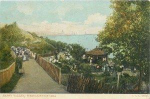 Postcard England Westcliff-on-Sea Happy Valley