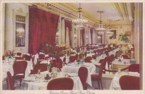 Victorian Room Palmer House Chicago Illinois 1938
