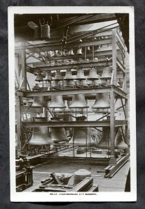 dc03 - LOUGHBOROUGH England 1920s Bell Storage / Factory. Real Photo PC
