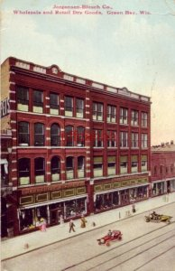 JORGENSEN-BLESCH CO. WHOLESALE AND RETAIL DRY GOODS, GREEN BAY, WI. 1911