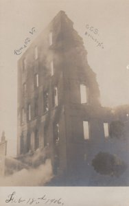 RP: RUTLAND , Vermont , 00-10s ; C.C.S. Building Fire Ruins