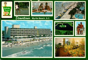 South Carolina Myrtle Beach Downtown Multi View