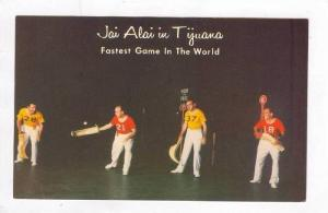 Jai Alai in Tijuana, Mexico, 40-60s