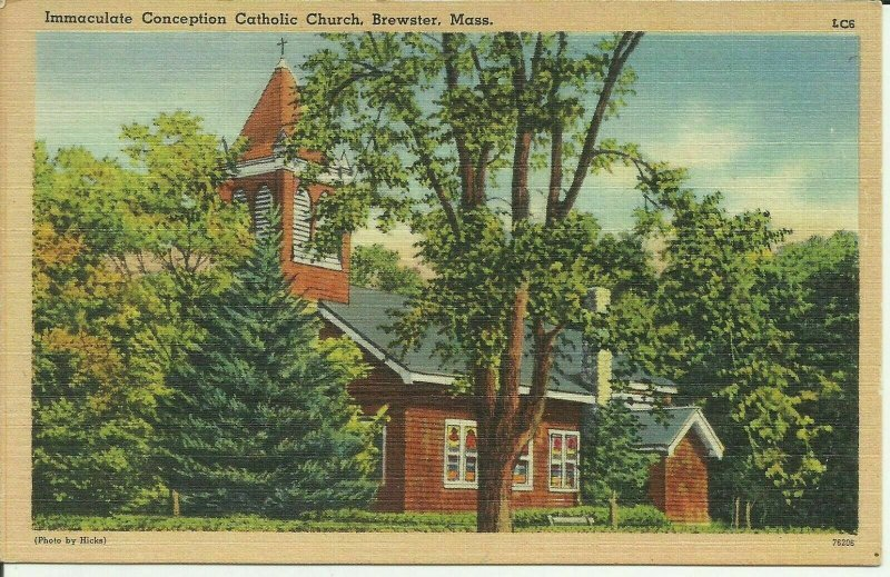 Brewster, Mass., Immaculate Conception Catholic Church
