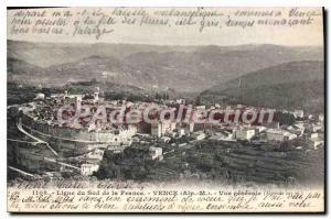 Postcard Old Vence Gnrale view