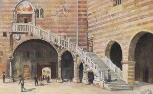 VERONA, Italy, 1925 ; Scalone Mercato Vecchio ; TUCK 790