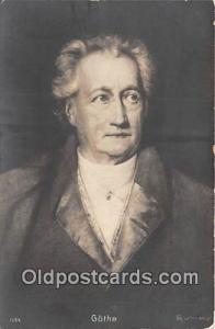 Postcard Post Card Goethe