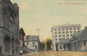 HAGERSTOWN , Maryland, 1911 ; Summit Avenue