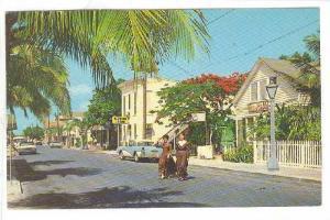 The John Dewey House on Greene Street, Miami, Florida,   40-60s