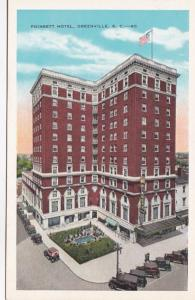 South Carolina Greenville Poinsett Hotel