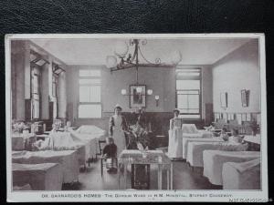c1912 - Stepney Causeway, Dr Barnardo's Homes, The Gordon Ward in H. M. Hospital
