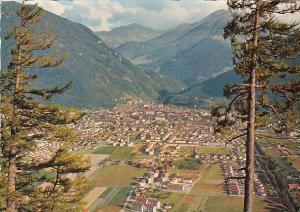 Switzerland Chur Mit Aroser Weisshorn Panorama 1964