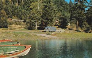 Canada Cameron Lake Chalet Qualicum British Columbia