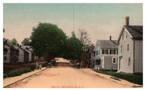 Rhode Island , Mapleville , Main street, 10 duplicate Views ,Dealer lot