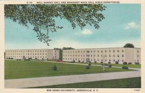 South Carolina Greenville Nell Sunday Hall And Margaret Mack Hall Girls Dormi...