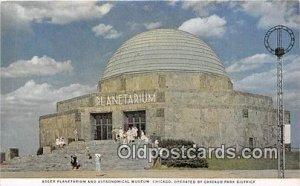 Adler Planetarium & Astronomical Museum Space Chicago, USA Unused