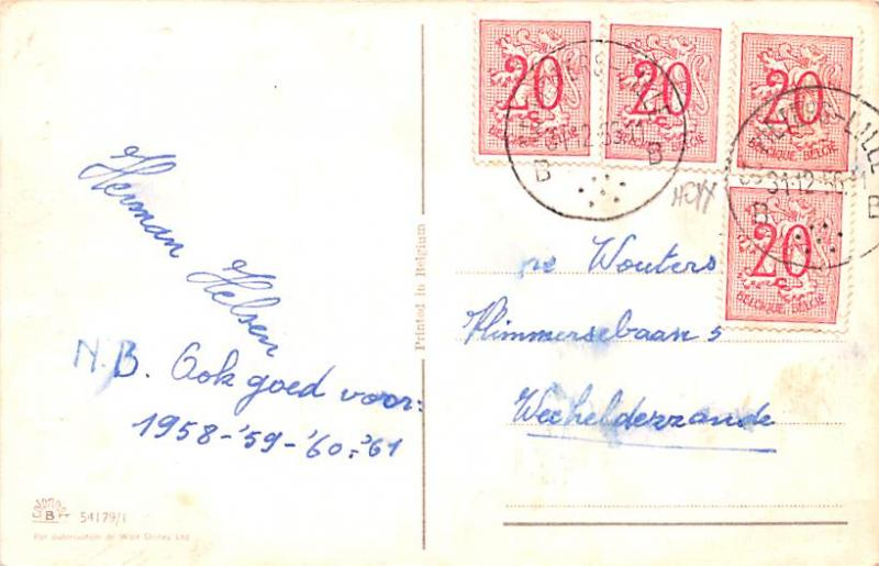 Postal used unknown