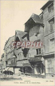 Old Postcard Lisieux Old Maisions the Grande Rue