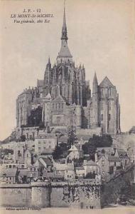 LE MONT-St. MICHEL, Vue generale, cote Est, Manche, France, 00-10s
