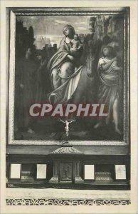 Modern Postcard Locarno Santuario Madonna Del'Sasso La Fuga in Egitto