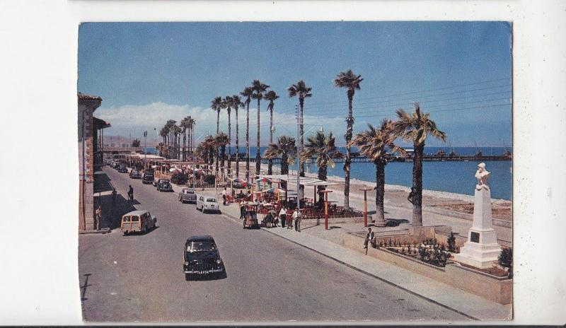 BF29034 larnaca sea front cyprus the birthplace of zeno the sto front/back image