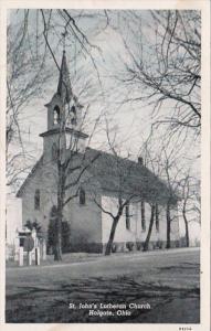 Ohio Holgate St John's Lutheran Church Curteich