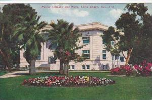 California Long Beach Public Library And Park