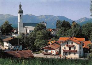 Elbach Oberbayern Gasthaus Pension Kirche Church