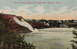 MADISON , Maine,00-10s; Great Northern Pulp and Paper Mill