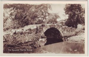 P739 old real photo the old bridge panama