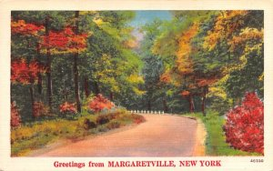 Greetings from Margaretville, New York Postcard