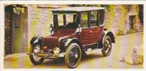 Craven Black Cat Vintage Cigarette Card Vintage Cars No 4 1919 Rauch &  La...