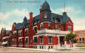 Public Library Bloomington Illinois 1913