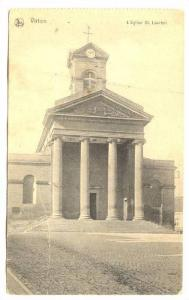 L'Eglise St. Laurent, Virton (Luxembourg), Belgium, 1900-1910s