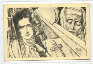 Dutch Symbolist JAN TOOROP - Female Prophet