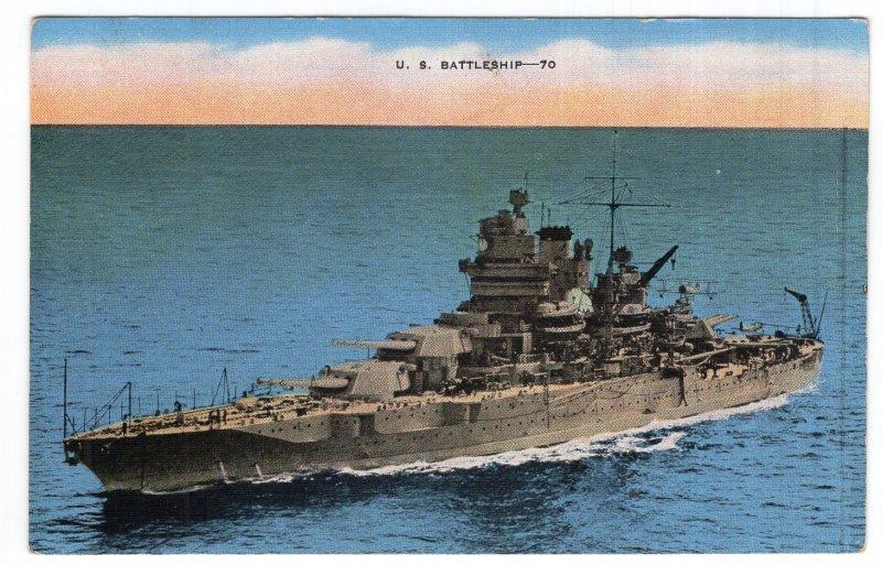 U. S. Battleship