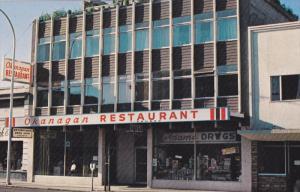Okanagan Restaurant , VERNON , B.C. , Canada , 50-60s