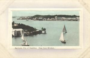 bermuda, HAMILTON, View from Windham (1910s) Embossed