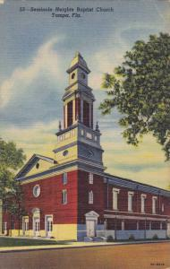 Seminole Heights Baptist Church , Tampa , Florida, 30-40s