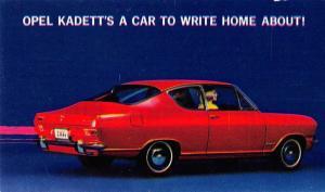 General Motor 1966 Opel Kadett deluxe sport coupe vintage pc Z17902