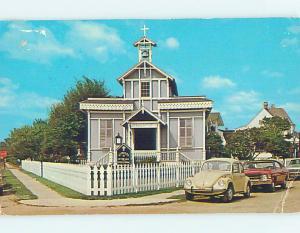 Bent Corner Pre-1980 CHURCH SCENE Cape May New Jersey NJ L5387